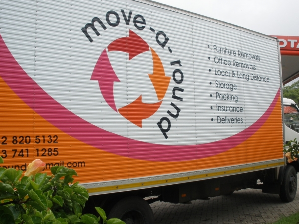 MoveAround Furniture Removals Truck Sideview
